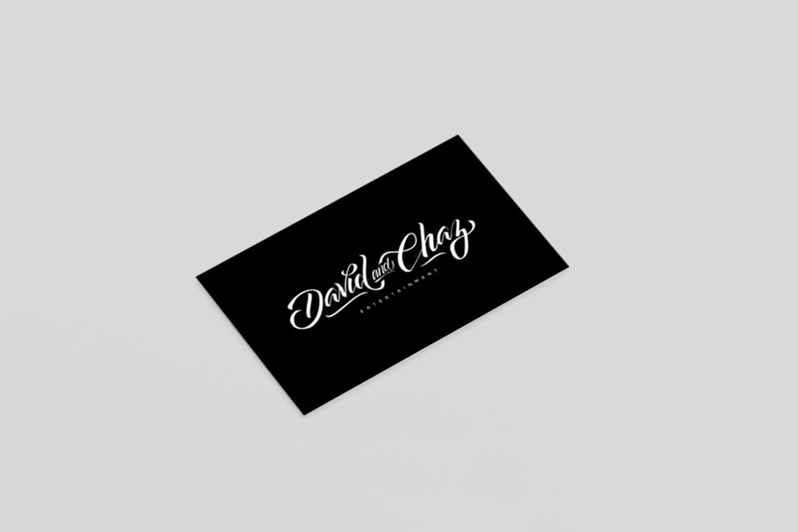 David & Chaz Entertainment Logo
