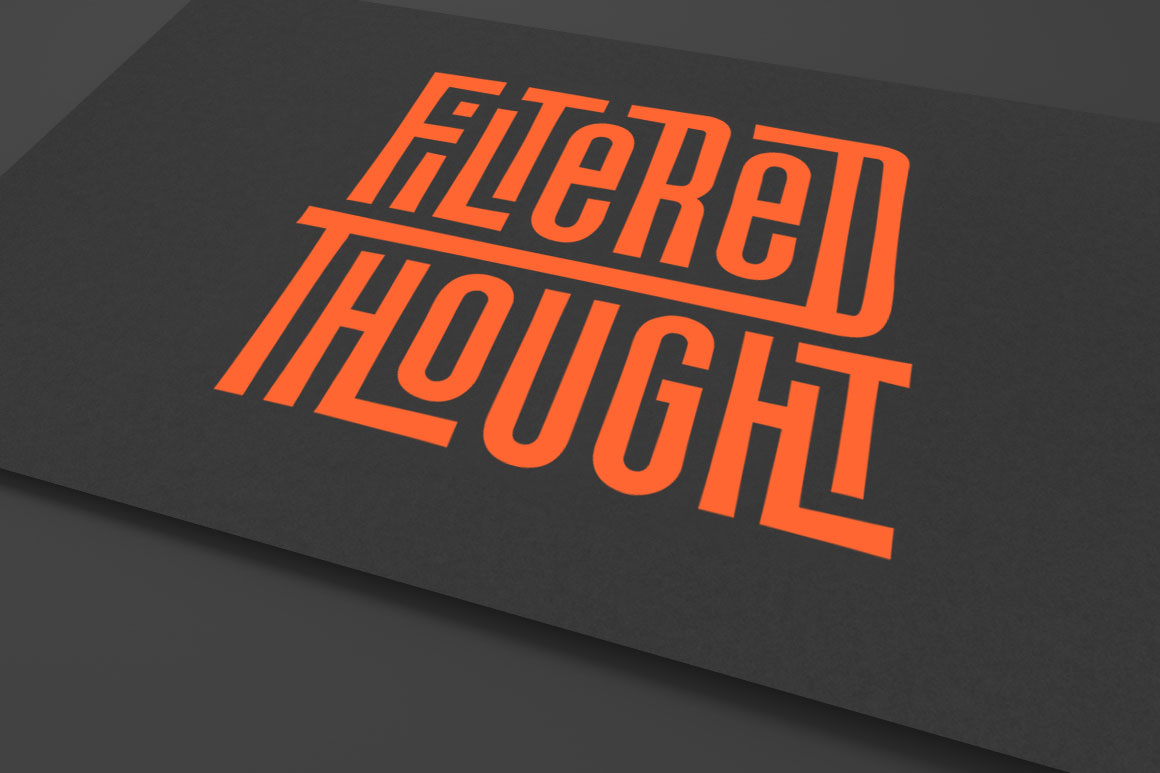 Filtered Thought Logo Design