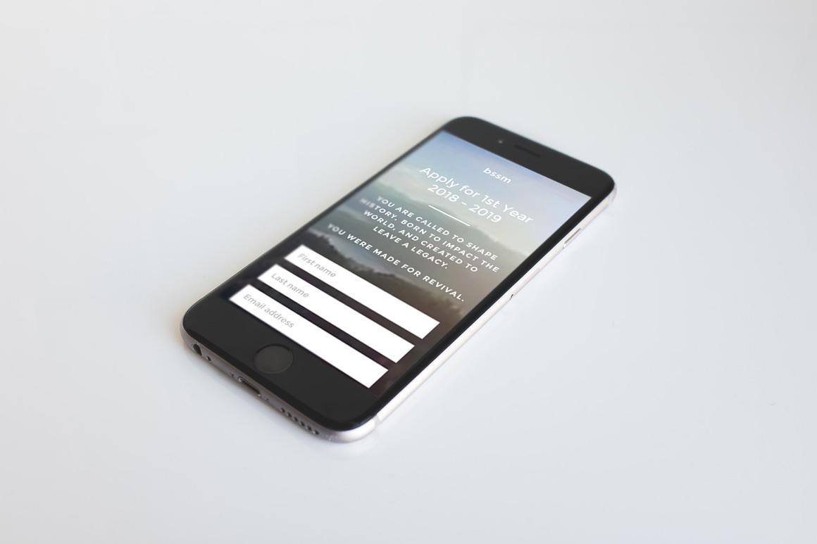 BSSM User Interface Design