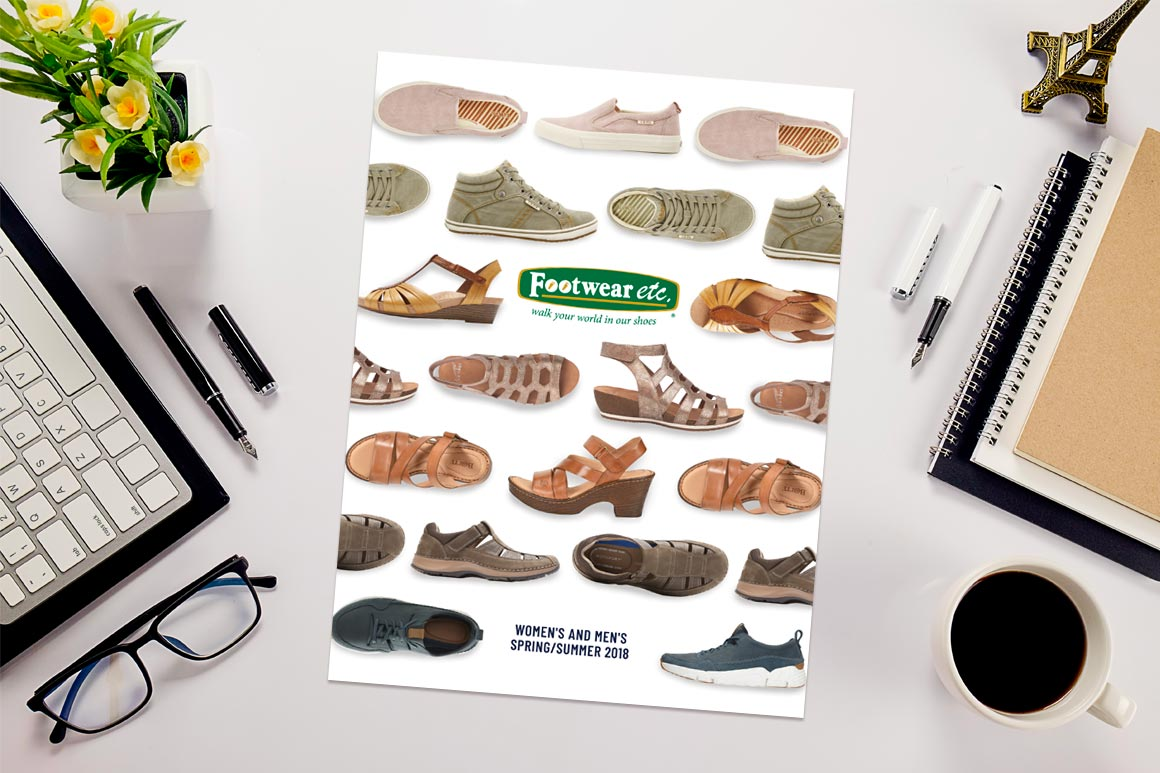 Footwear etc. Catalog Cover Design