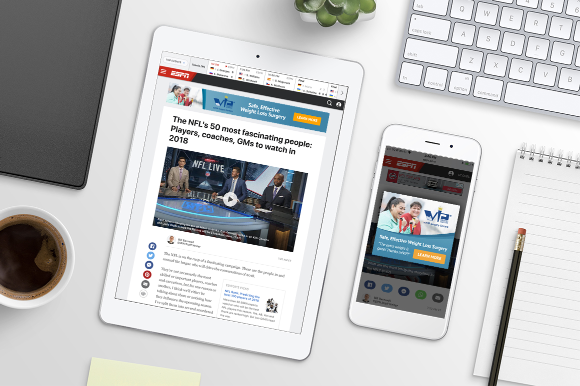 miVIP HTML5 Banner Ads Hero 1