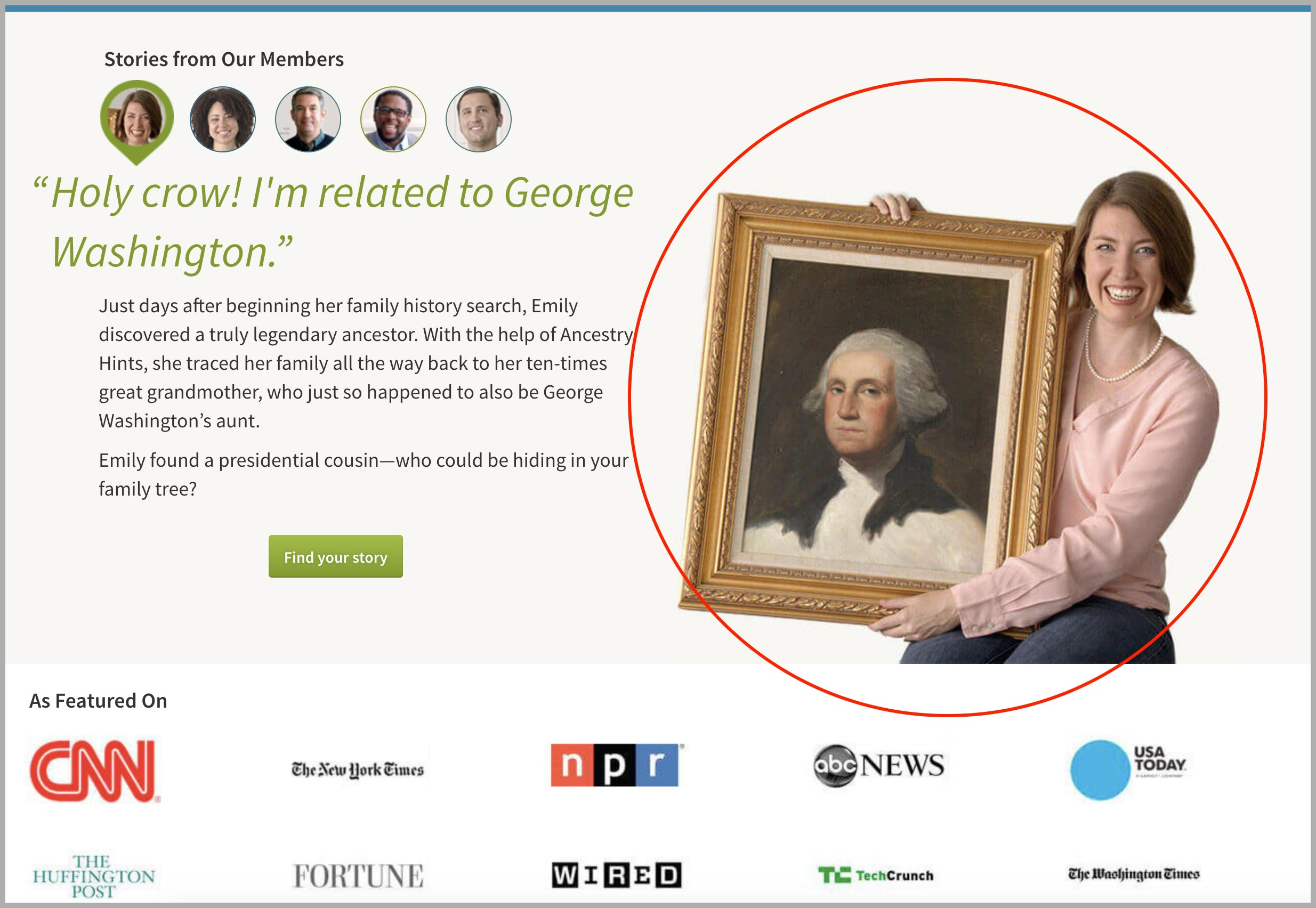 Ancestry.com Screenshot