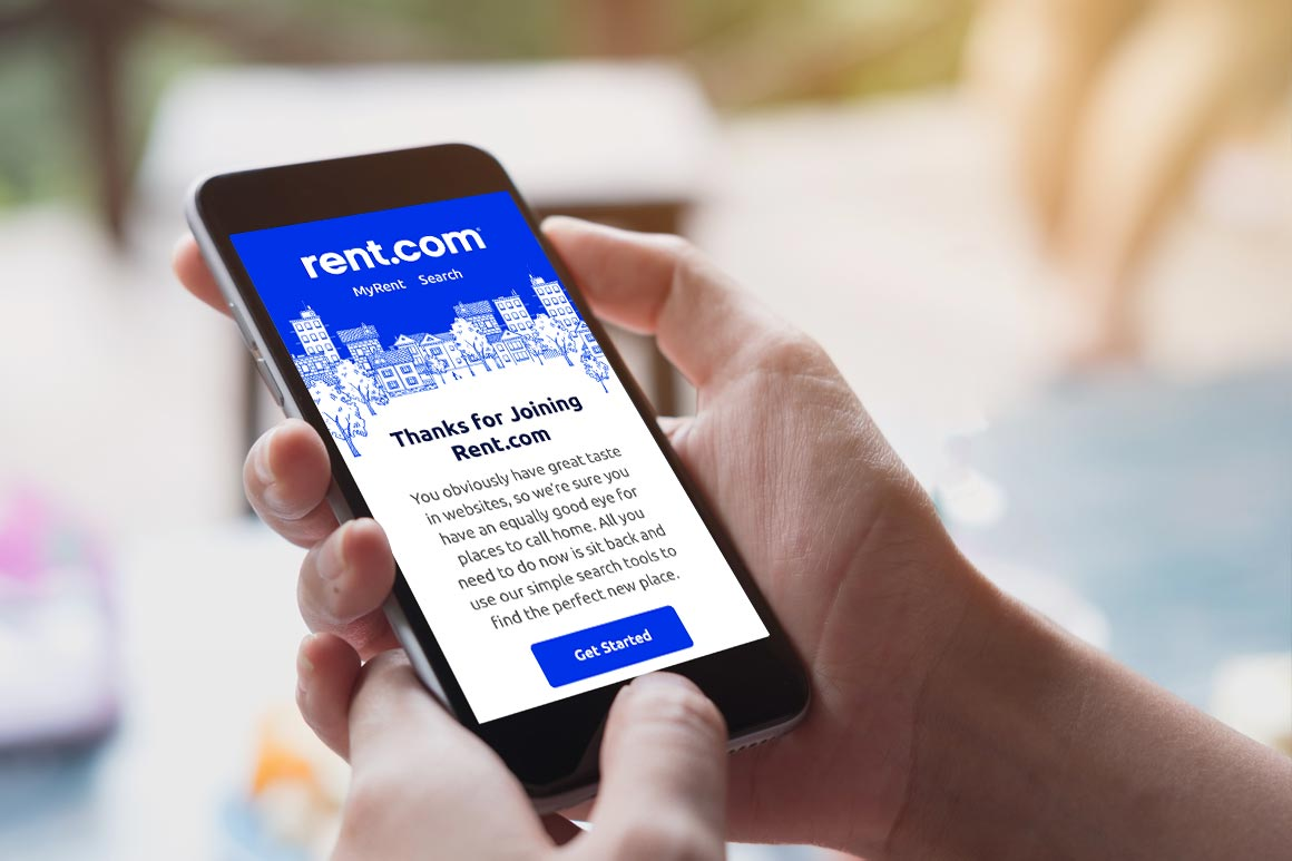 Rent.com Email Marketing