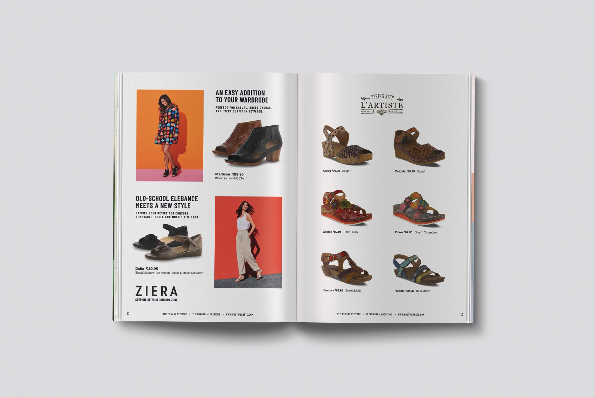 Footwear etc. Spring 2019 Catalog
