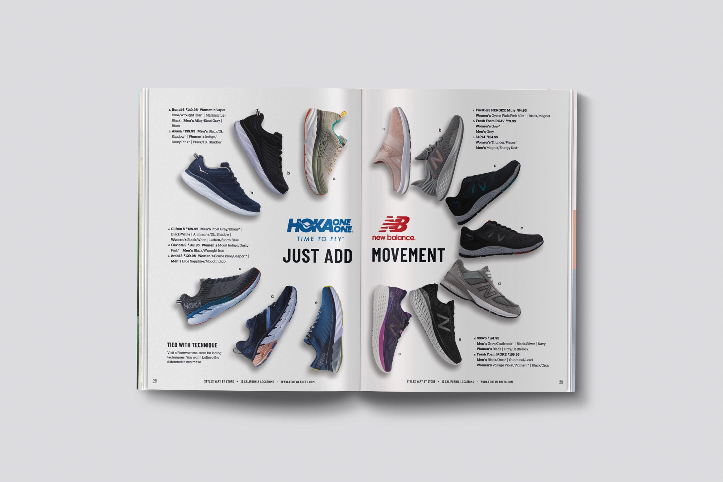 Footwear etc. Spring Catalog