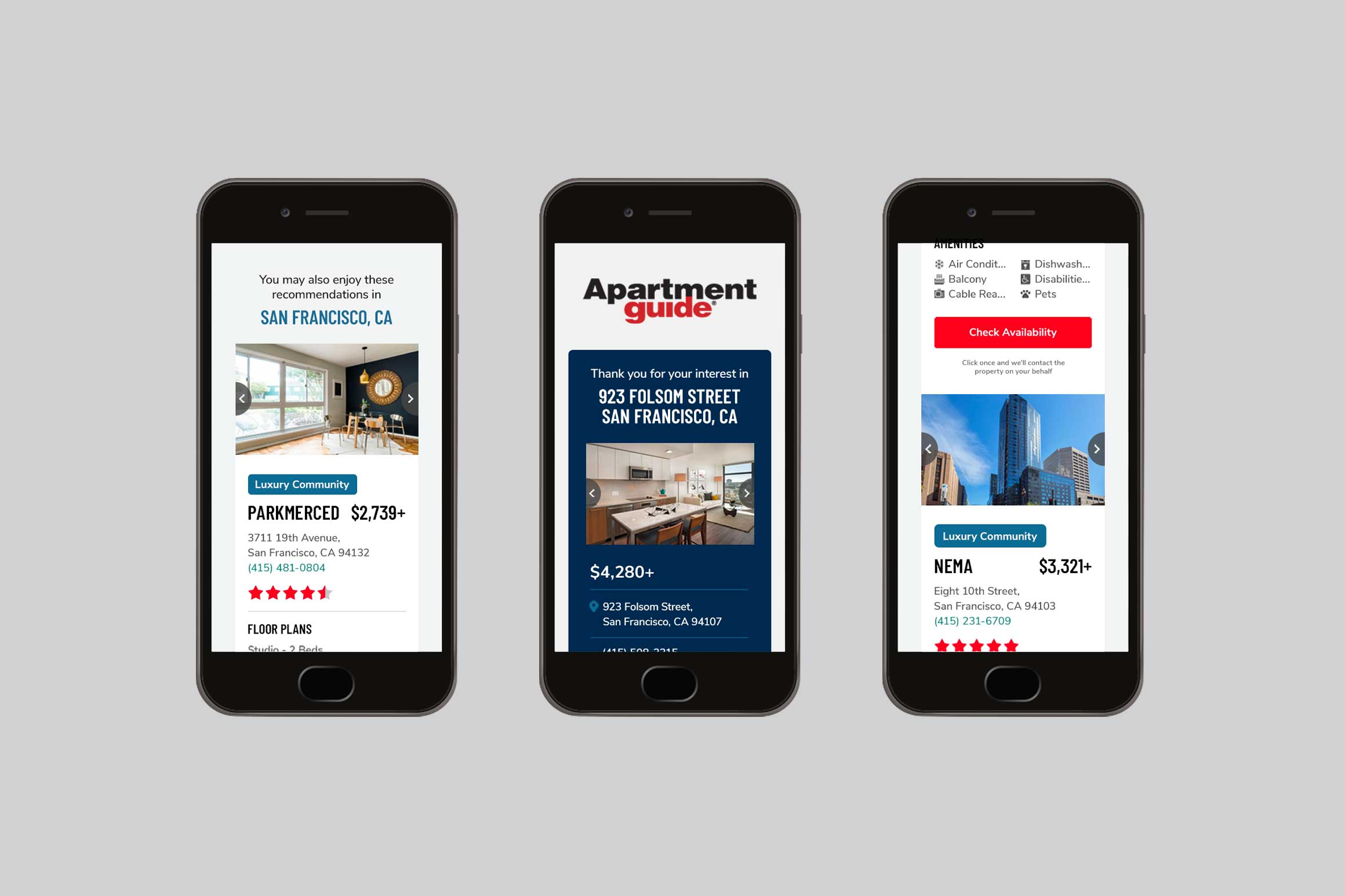 Apartment Guide Email Marketing