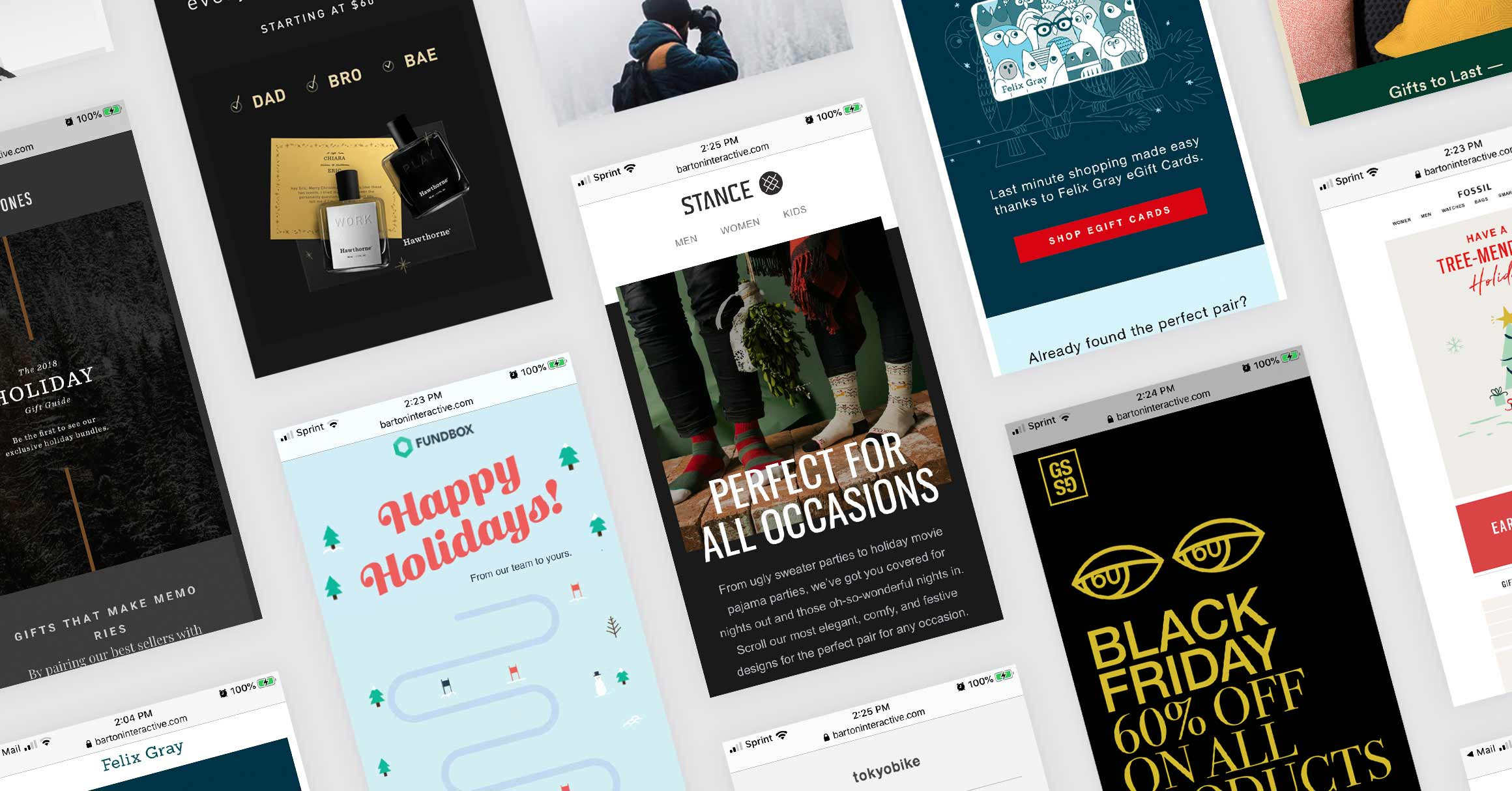 Holiday Email Inspiration Roundup