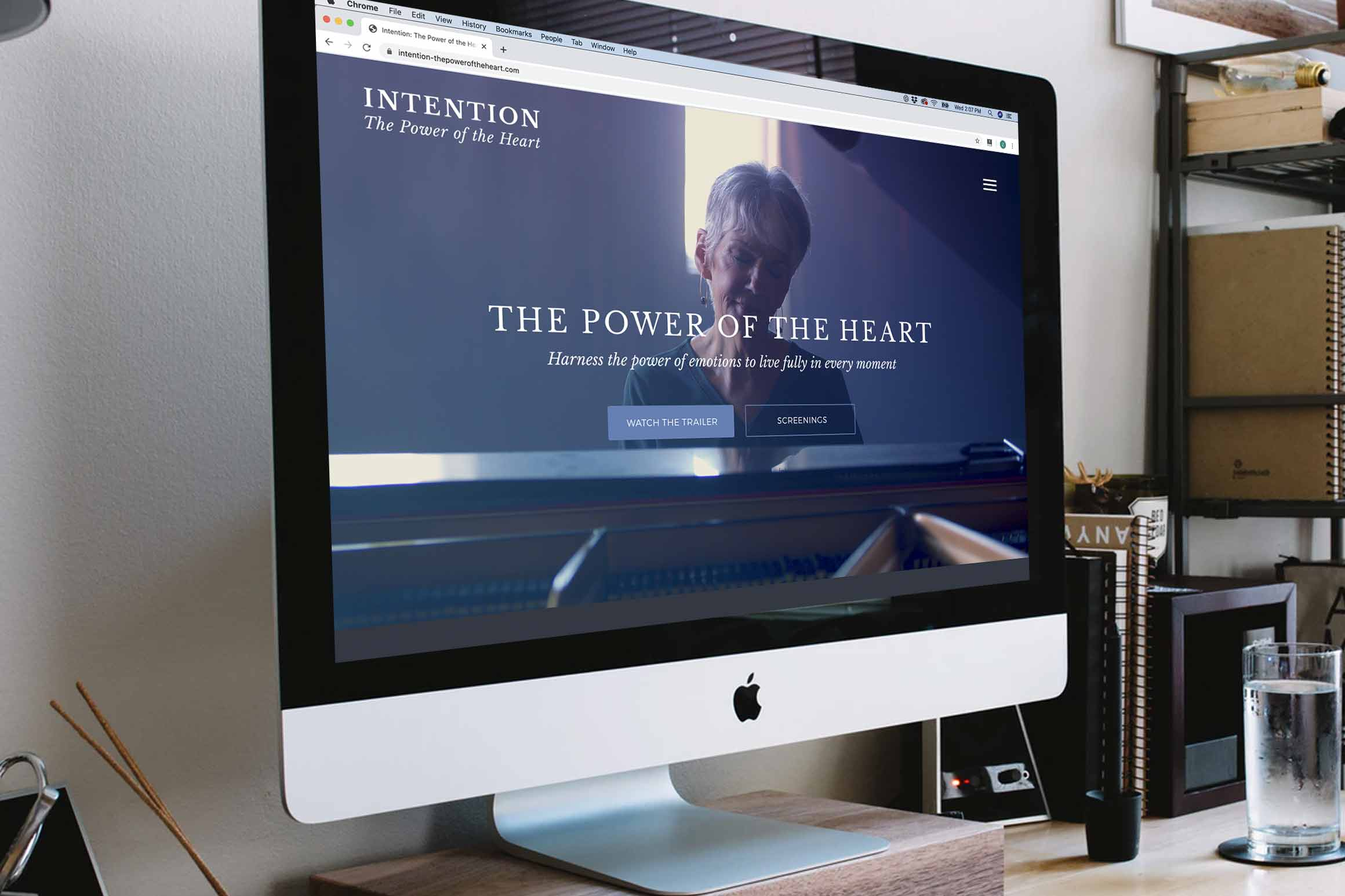 Intention: The Power of the Heart Documentary Website