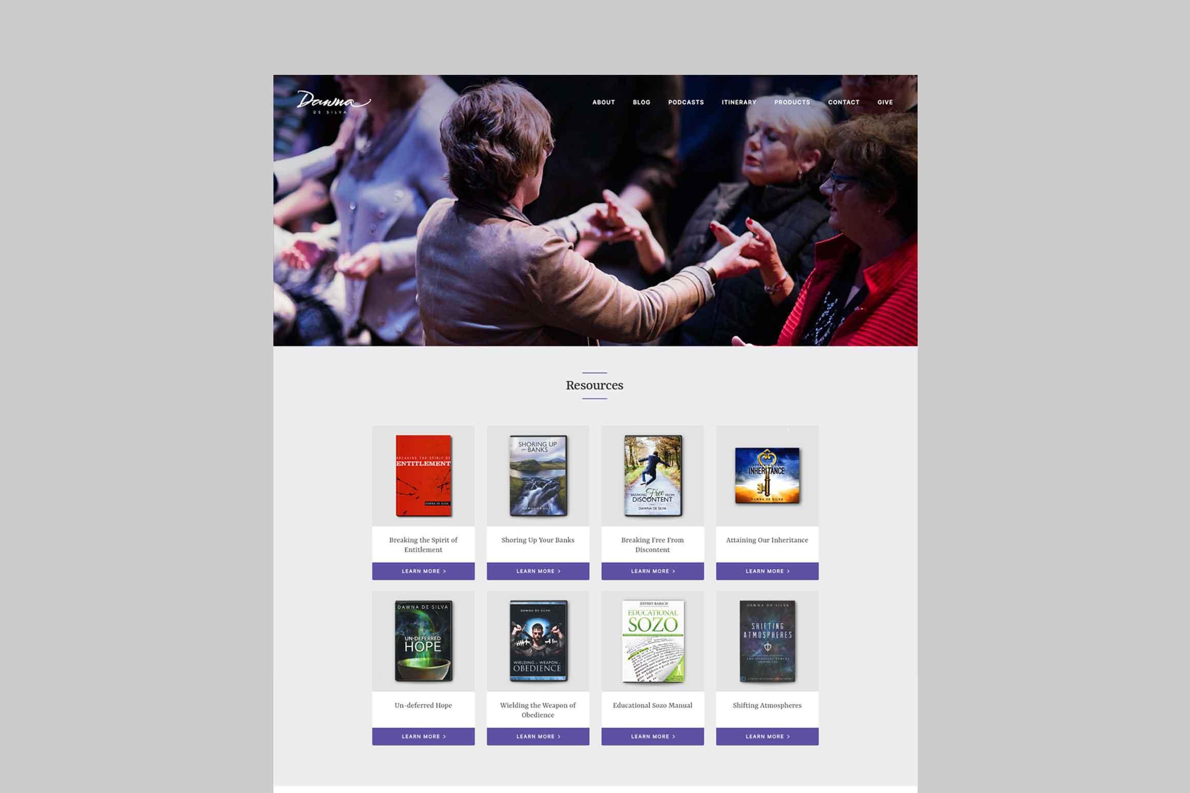 Dawna De Silva Website Resources Page