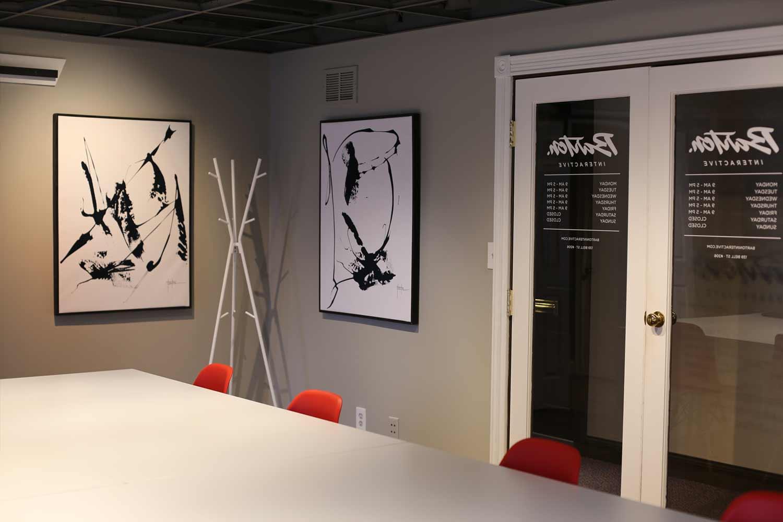 Chagrin Falls Web Design Office: Interior